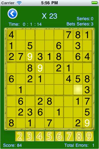 sudoku per cellulare