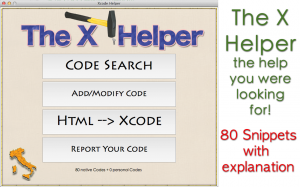 The X Helper - iPhone app developers tool