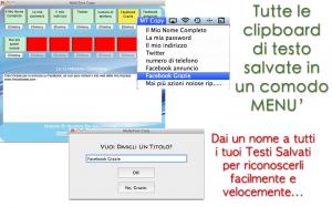 Multi Text Copy per Mac