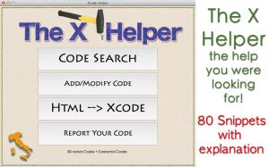 The X Helper - iPhone app developers tool