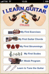 I Learn Guitar - corso di chitarra per iPhone e iPad